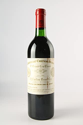CHÂTEAU CHEVAL BLANC 1987-1er Grand Cru Classé A - (Beschädigtes Etikett)