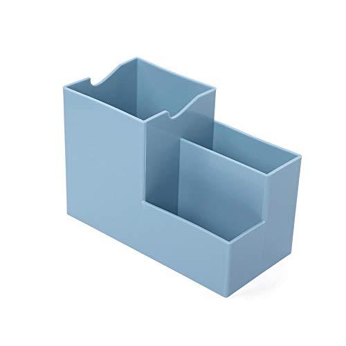 JINQIANSHANGMAO Organizador 1 UNID Creativo multifunción PENSHIPTER Desktop Desktop Desktop Baja DE Almacenamiento Accesorios DE ESCRITORES DE ESCRITORIOS (Color : Blue)