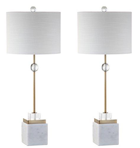 Modern Marble/Crystal LED Table Lamp