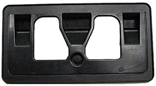 HONDA ACCORD 08-12 FRONT LICENSE PLATE BRACKET Black Sedan Textured Base