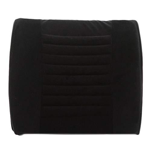 XXT Waist Pad Office Waist Pad Car Waist Back Waist Pad Office Seat Back Waist Support Lumbar Pillow Waist Pad (Color : Black)