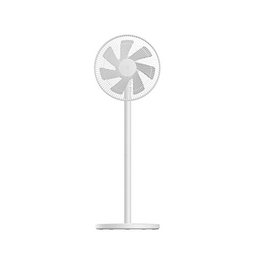 Xiaomi Mi Smart Standing Fan 1C Ventilator, 45 W, 26,6 Decibel, 3 Geschwindigkeiten, Weiß