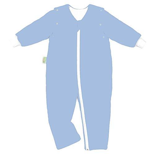 Odenwälder Jersey-Schlafoverall Hopsi sky blue 110/116