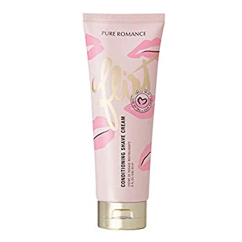 Pure Romance Coochy Cream Conditioning Scented Shave Cream Shaving Cream for Women to Experience their Smoothest Bikini Area Legs and Underarms Truly Sexy Flirt