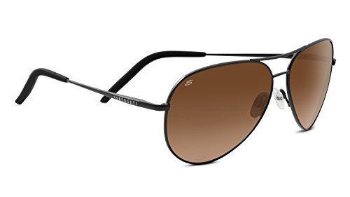 Serengeti Eyewear Sonnenbrille Carrara, Satin Dark Gunmetal/Drivers Gradient, 8453