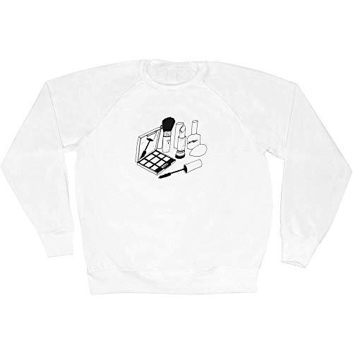 Azeeda Extra Groß 'Schminkset' Unisex Sweatshirt / Pullover (SW00026988)