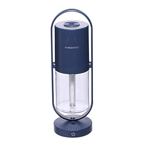 Magic Negative Air Ion luchtbevochtiger 200ML Ultrasone etherische olie Diffuser Cool Mistluchtreiniger 7 kleurenverlichting Home Office, zwart