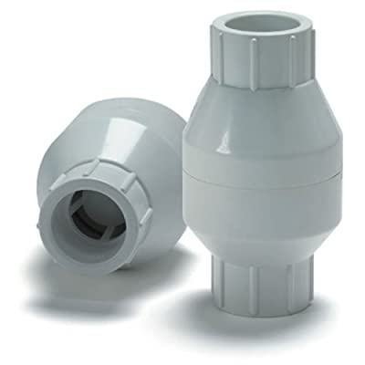 """1-1/2"""" PVC Spring Check Valve - Socket from Colonial Engineering"""