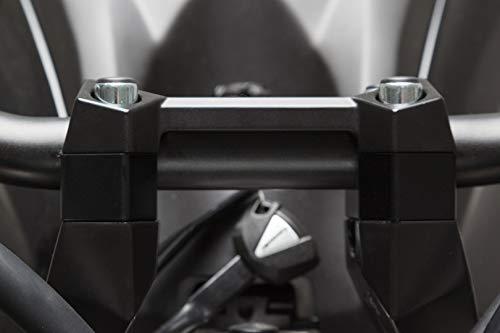 Guidon erhoehung à ¸ 22 mm x H 20 mm. Noir. Kawasaki