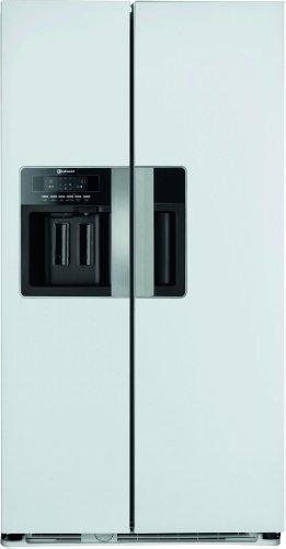 Bauknecht KSN 560 BIO A+ EW Side by Side / Kühlen: 335 L / Gefrieren: 180 L / edles weiß / Wasserspender / Eiswürfelbereiter
