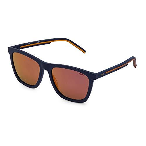 Hugo Boss (HG-1047-S L0XUW) - Gafas de sol, color azul mate y naranja