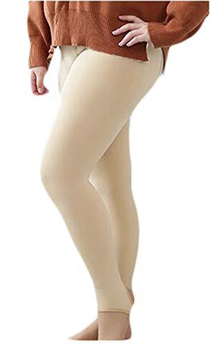 作業日報のための女性のハイウエストパンツプラスサイズニットパンツ150グラムストレッチあぶみ冬のズボン