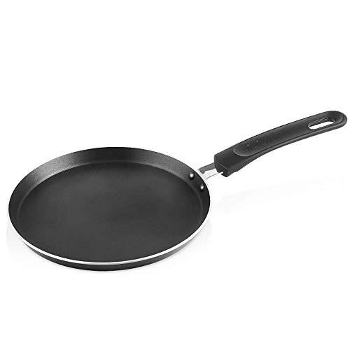 Koekenpannen Professional Koekenpan 20cm Inductie Non Stick Koekenpan Hard geanodiseerd aluminium Cookware Inductie Non-stick Ronde Pan Egg Pan Iron Kitchen Cookware PFOA Gratis HAOSHUAI