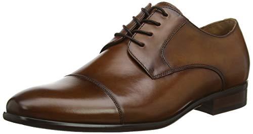 ALDO Galerrang-r, Zapatos de Cordones Oxford Hombre, Marrón (Cognac 220), 43 EU