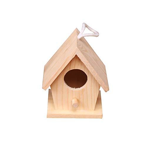Eillybird Vogelhuisje, vogelkooi, vogelvoerhuisje, versiering, klein, alleen voor decoratie, verschillende soorten voor het balkon, cadeau