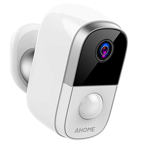 Great Deal! AHOME C1 Wireless Rechargeable Battery Powered Outdoor Security Camera/Indoor Baby Monit...
