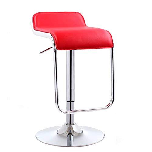 LINGZHIGAN Fauteuil de bar moderne simple chaise pivotante chaise de bar dossier haute tabouret chaise de caisse (Couleur : F)