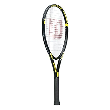 Wilson Tour Slam Adult Strung Tennis Racket, 4 3/8