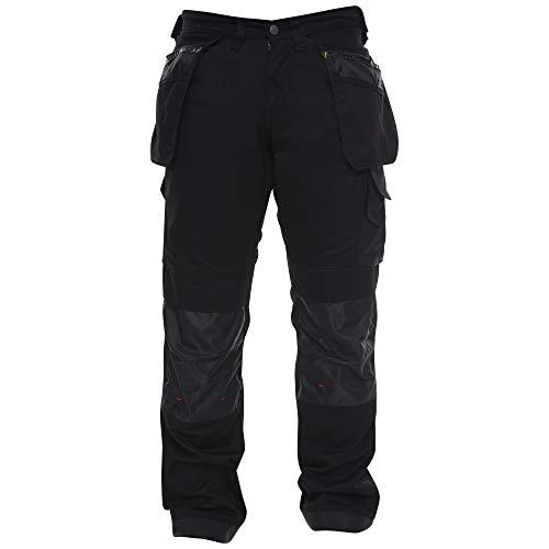 Qaswa Homme/Pantalon De Travail Cargo Genouill/ères Avec Poches Work Wear Trousers