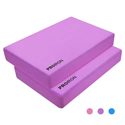 PROIRON Bloques de Yoga (púrpura, 1 Pieza)