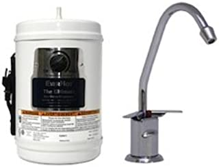 Everhot (LVH-500-Chrome) Under-Sink Instant Hot Water System with Hot & Cold Faucet; Chrome