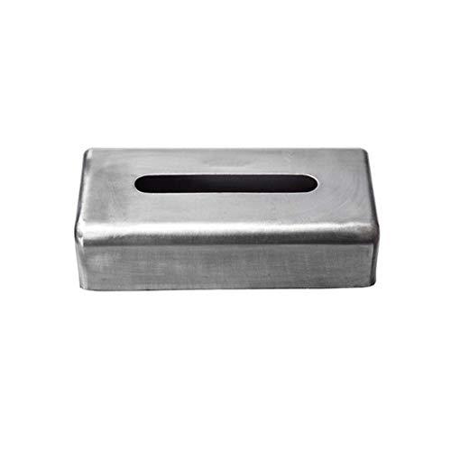 HJHJ Regalo Caja de pañuelos Caja para Pañuelos Tejido Rectangular Cubierta Facial De Papel De Acero Elegante, Soporte Moderno De La Caja
