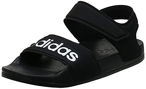 Adidas Adilette Sandal K, Zapatillas Deportivas, Core Black/FTWR White/Core Black, 35 EU