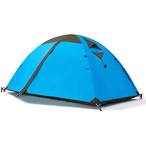 JINDEN Easy Set Up Ultralight Tent, Camping Tent 2 Person, Ventilation Waterproof Lightweight Backpacking Tent with Carry Bag, 3-4 Seasons, Easy Set Up, Ideal for Camping, Hiking & Outdoor