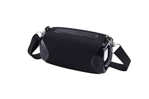 ZDY Tragbare Mini-Bluetooth-Lautsprecher WLAN-Karte U Scheibe TF-Karten-Lautsprecher-Audiosystem Stereo Music Around,Schwarz