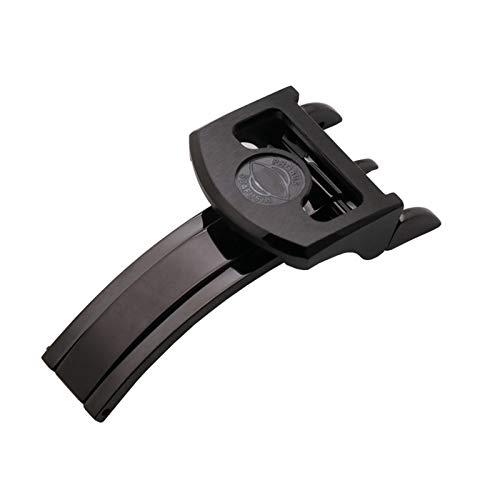 YGGFA 18mm de calidad de acero inoxidable de despliegue plegable de cierre para IWC Mark para/LE PETIT PRINCE para/gran PILOTO Spitfire Timezon Portugués pulsera reloj correa