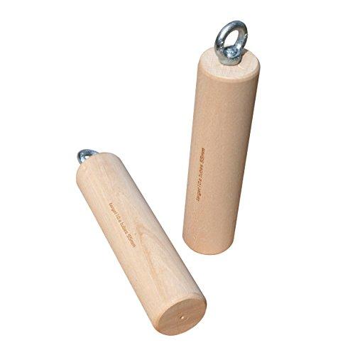 target10a Wood Tubes 90mm – Holzzylinder fürs Klettertraining