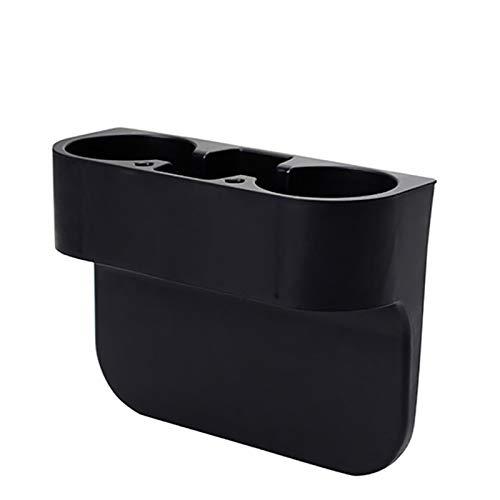 Negro Auto Asiento de Coche Portavasos Lateral Almacenamiento Botella de Bebida Vehículo Puede Taza Soporte de Montaje Soporte Adecuado para la mayoría de los Modelos de automóviles