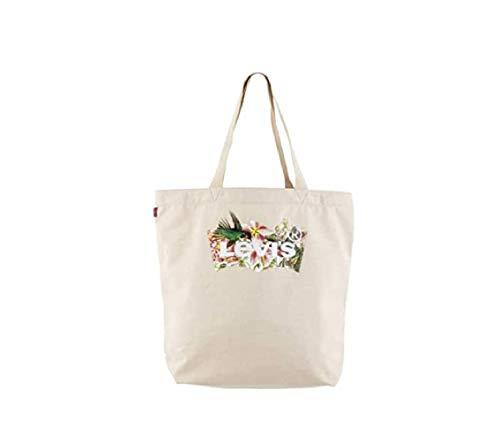 Levi's Women's Seasonal Batwing Tote, Bag para Mujer, crudo, Talla única