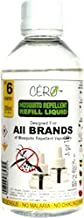CERO Herbal Mosquito Repellent REFILL LIQUID for ALL BRANDS of Vaporiser Machines (190 ml)