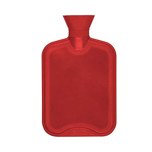 Hearth and Home - Bolsa de agua caliente (2l) (Rojo)