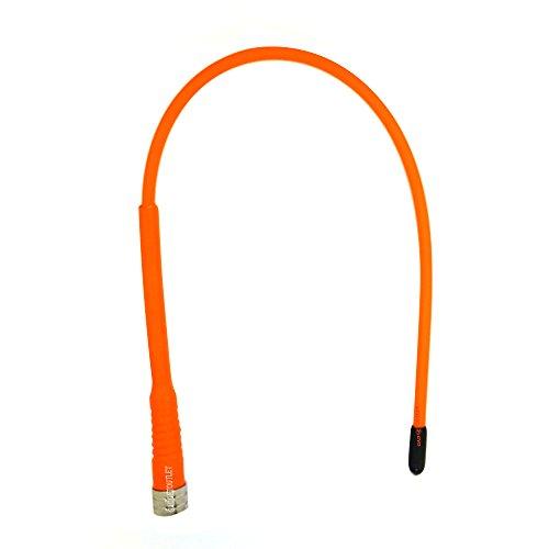 Supergain Flexibler antenne Gummibeschichtung für Garmin GPS Astro und Alpha (orangene)