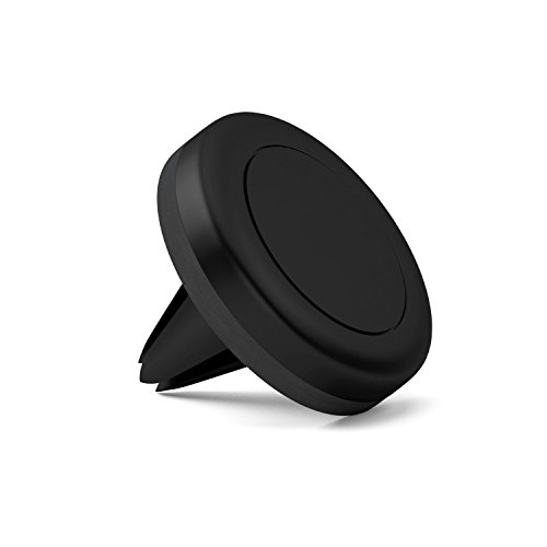 MacNgrid MagGrip Air Vent Magnetic Universal Car Mount Holder for iPhone X, 8, 7, 6, 6S, Galaxy S8, S7 Edge (Black)