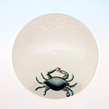 Ceramic Blue Crab Trivet by Beachcombers