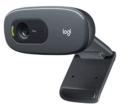 Logitech C270 Desktop or Laptop Webcam, HD...