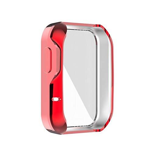 Roexboz Custodia Protettiva, Custodia Protettiva in TPU Ultra Sottile per Xiaomi Mi Watch Lite Redmi Watch Lite Custodia Protettiva Morbida per Smart Watch