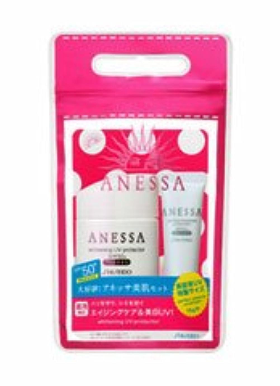 付録アカデミースクラップ【資生堂】アネッサ 美白UVプロテクターA+セット