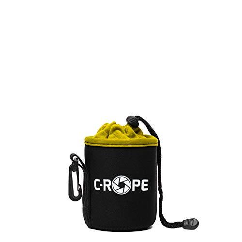 C-Rope Neopren Objektivbeutel mit Fleece-Fütterung als Schutz für Objektive oder Kamerazubehör, Größe S