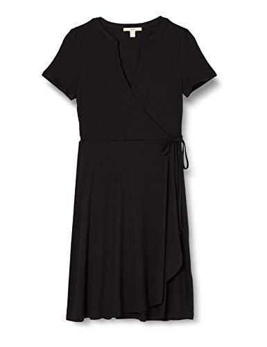 Esprit Damen 040EE1E350 Kleid, 001/BLACK, L