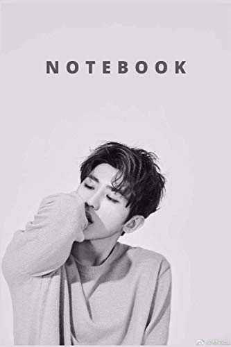 CAI XUKUN NOTEBOOK : DIARY JOURNAL FOR THE FAN CLUB: PERFECT FOR GIFT : 6X9 INCHES AND 110 PAGES