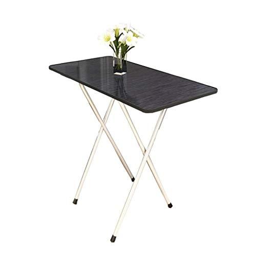 Klaptafel tuintafel, eettafel, eenvoudige eettafel, kleine woning, eettafel, bureau, draagbare buitenstaander (afmetingen: 60 x 60 x 55 cm) 60 * 60 * 75cm