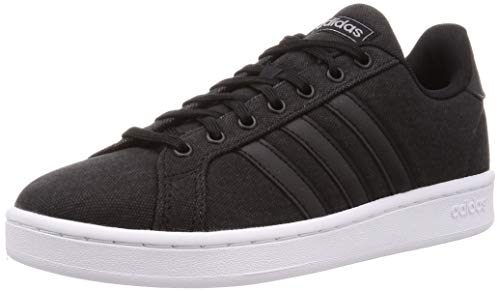 adidas Grand Court, Zapatos de Tenis Hombre, Core Black Core Black Grey, 41 1/3 EU