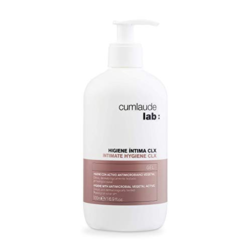 CUMLAUDE - Gel Higiene Íntima CLX - Limpiador higienizante y protector para la Zona Íntima, 500 ml