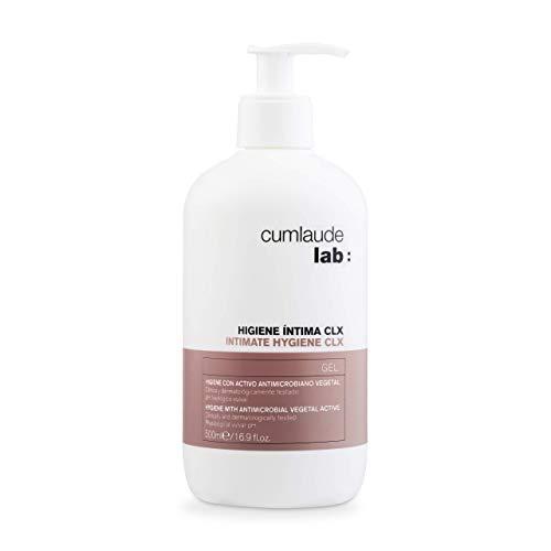 Cumlaude - Gel Higiene Íntima CLX - Limpiador higienizante y protector para la Zona Íntima - 500 ml