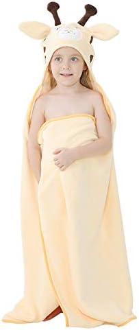 MICHLEY Cartoon Hooded Baby Towel Unisex Premium Soft Swimming Bathrobe Large Washcloths 31 product image
