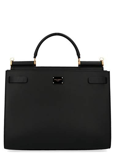 Luxury Fashion | Dolce E Gabbana Donna BB6624AV38580999 Nero Borsa A Spalla | Autunno Inverno 19